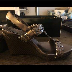 Lauren by Ralph Lauren Bronze Sandals